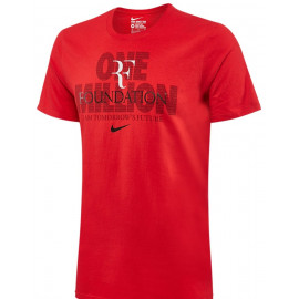 Roger Federer RF Foundation One Million Nike T-Shirt