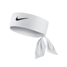 Nike Dri-Fit Headband - White / Black logo