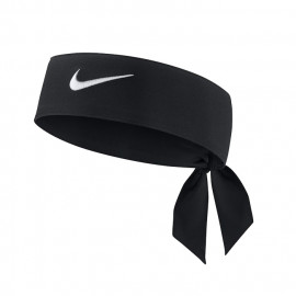 Nike Dri-Fit Headband - Black / White logo