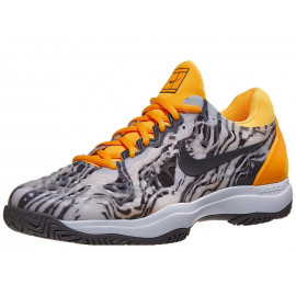 Nike Air Zoom Cage 3 Grey/Orange Men's Shoe RAFA NADAL