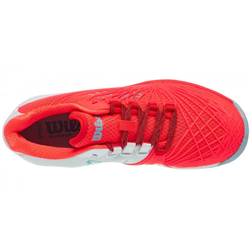 Wilson Kaos Women's Shoes - Red Coral/White
