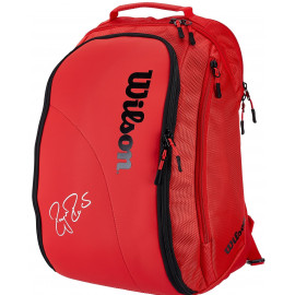 Wilson Federer DNA Backpack Bag - Red