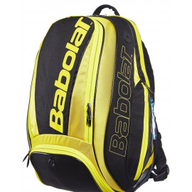 Babolat Pure Aero Backpack Bag - Yellow/Black
