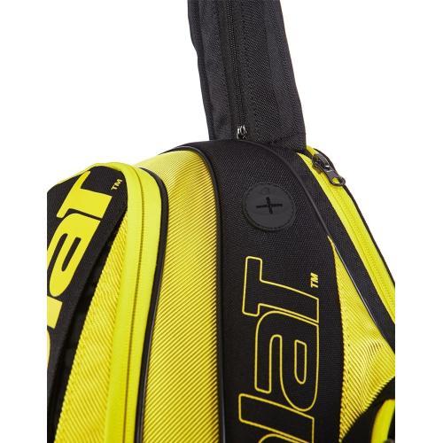 Babolat Pure Aero Backpack Bag - Yellow/Black