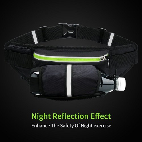 Waist Pack with Water Bottle Holder