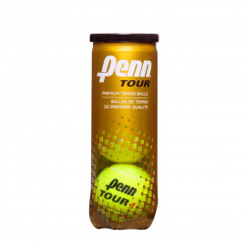 Penn Tour Extra Duty Tennis Balls - Can of 3 Balls