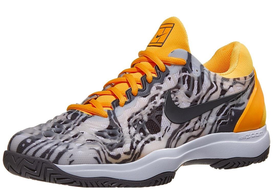 Nike Air Zoom Cage 3 Grey/Orange Men's