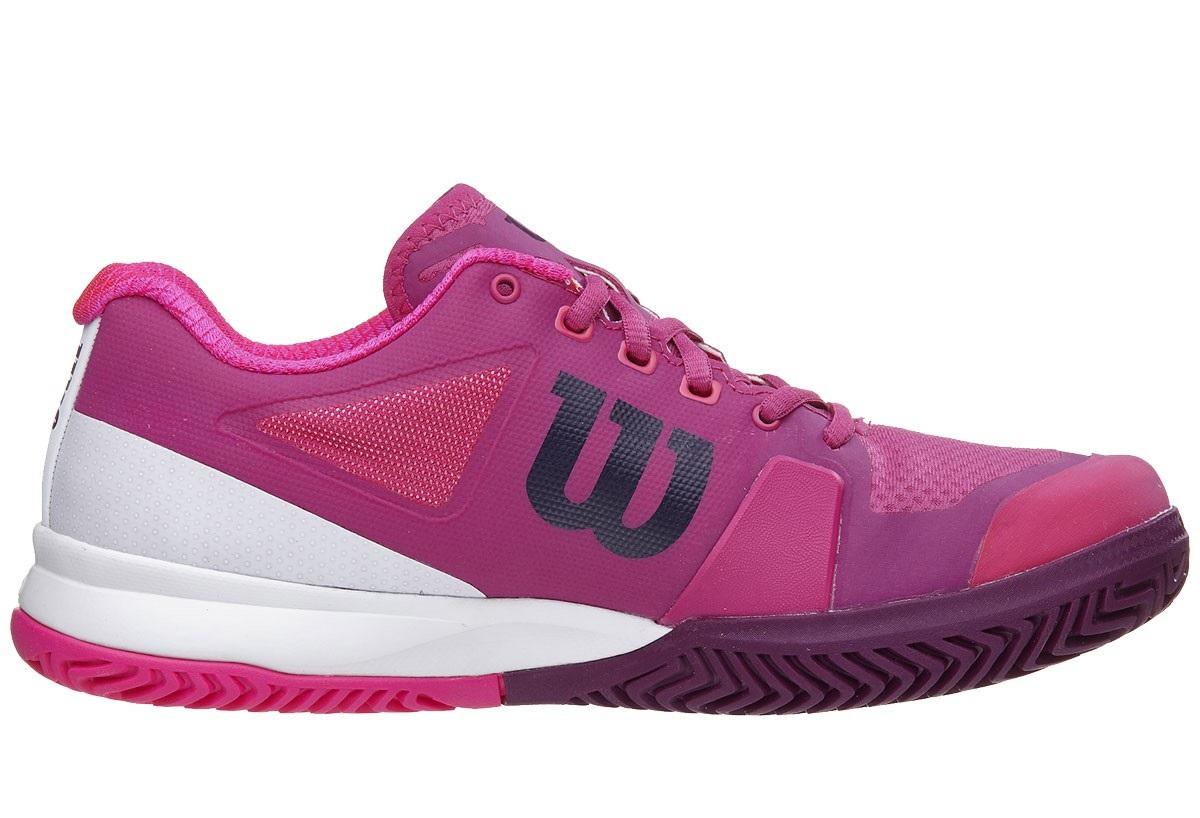Wilson Rush Pro Women's Shoe - Berry