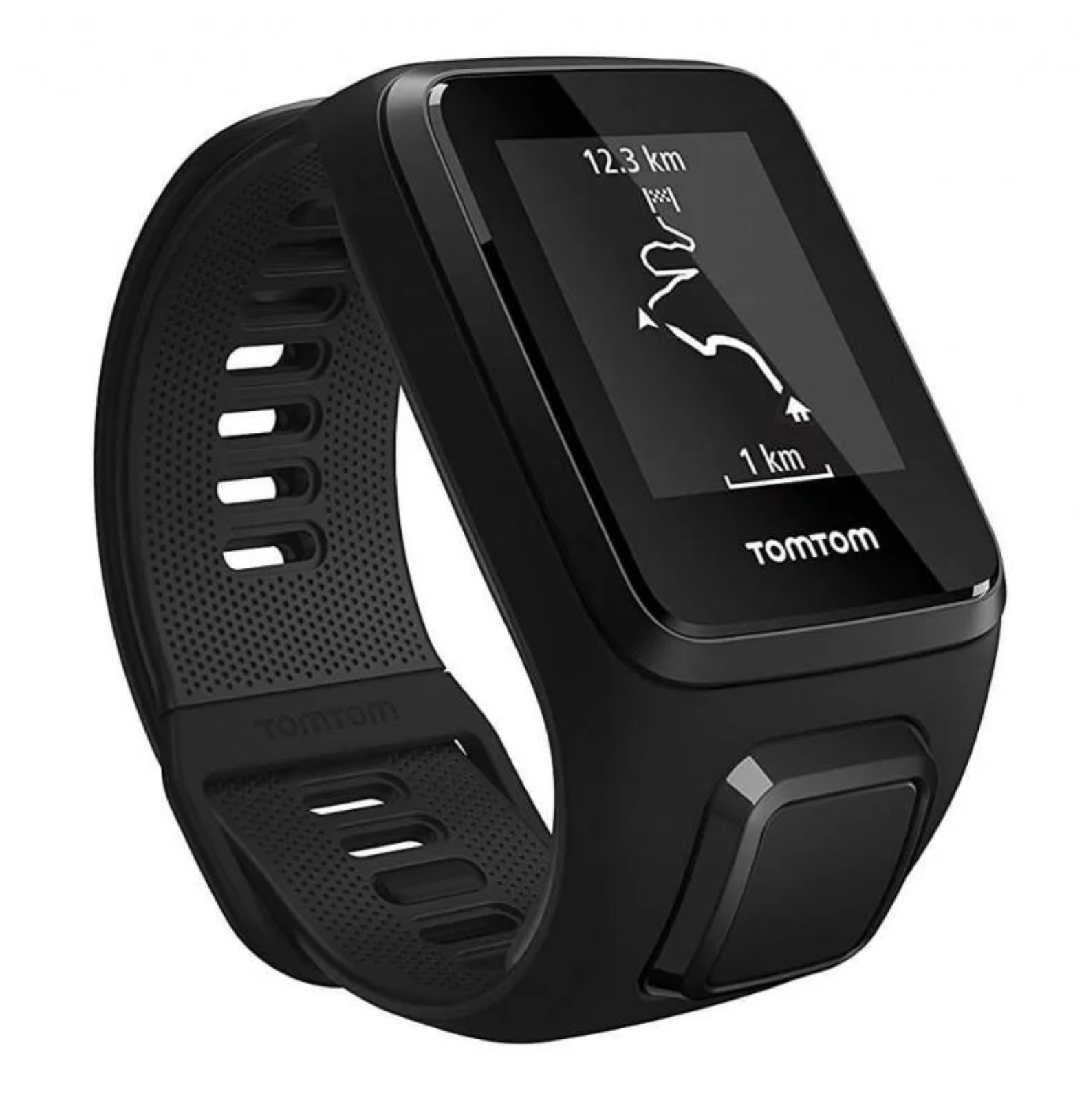 TomTom Spark 3 Limited Edition GPS Fitness Watch with Heart Rate Monitor and Music With TomTom Bluetooth Headphones - Large Strap, Black