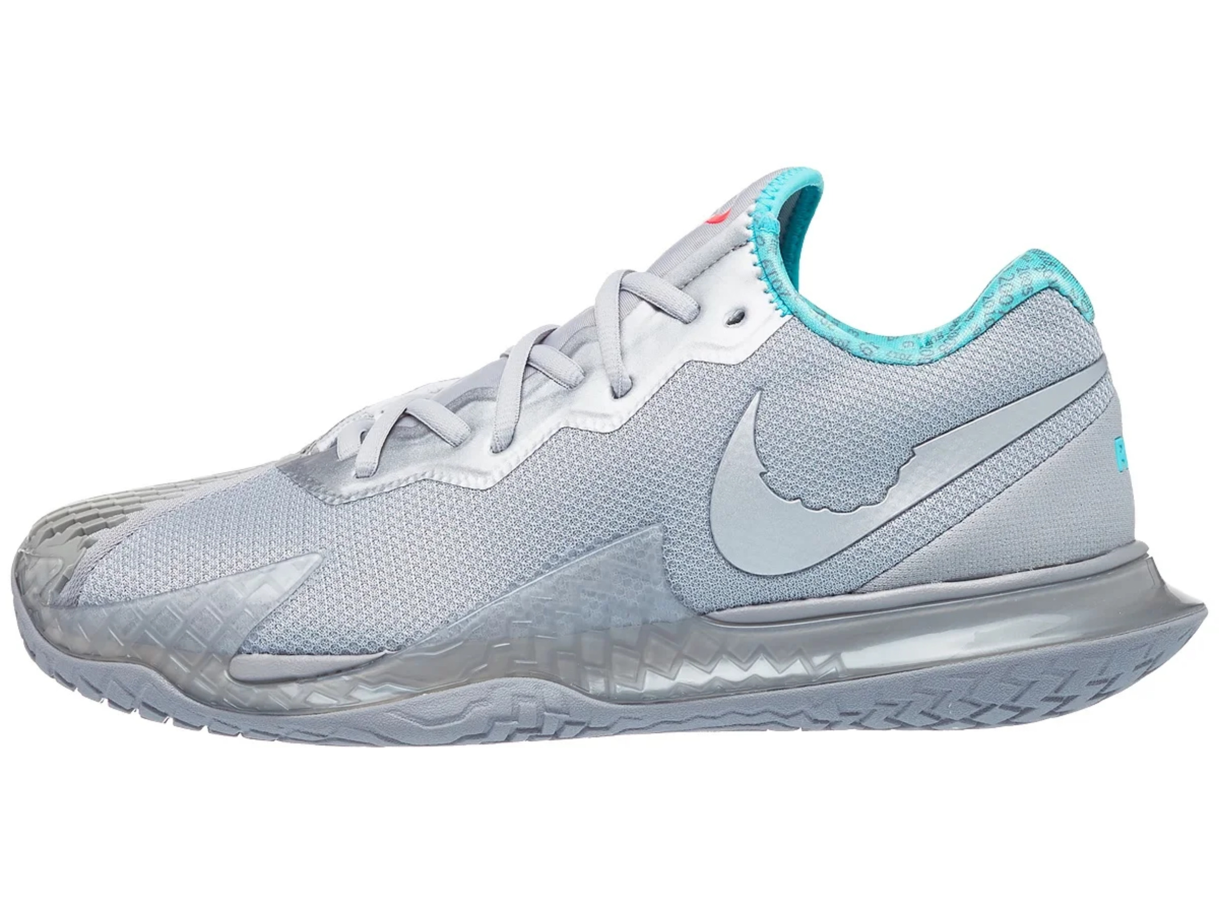 Nike Air Zoom Vapor Cage 4 Men's Shoe - Silver