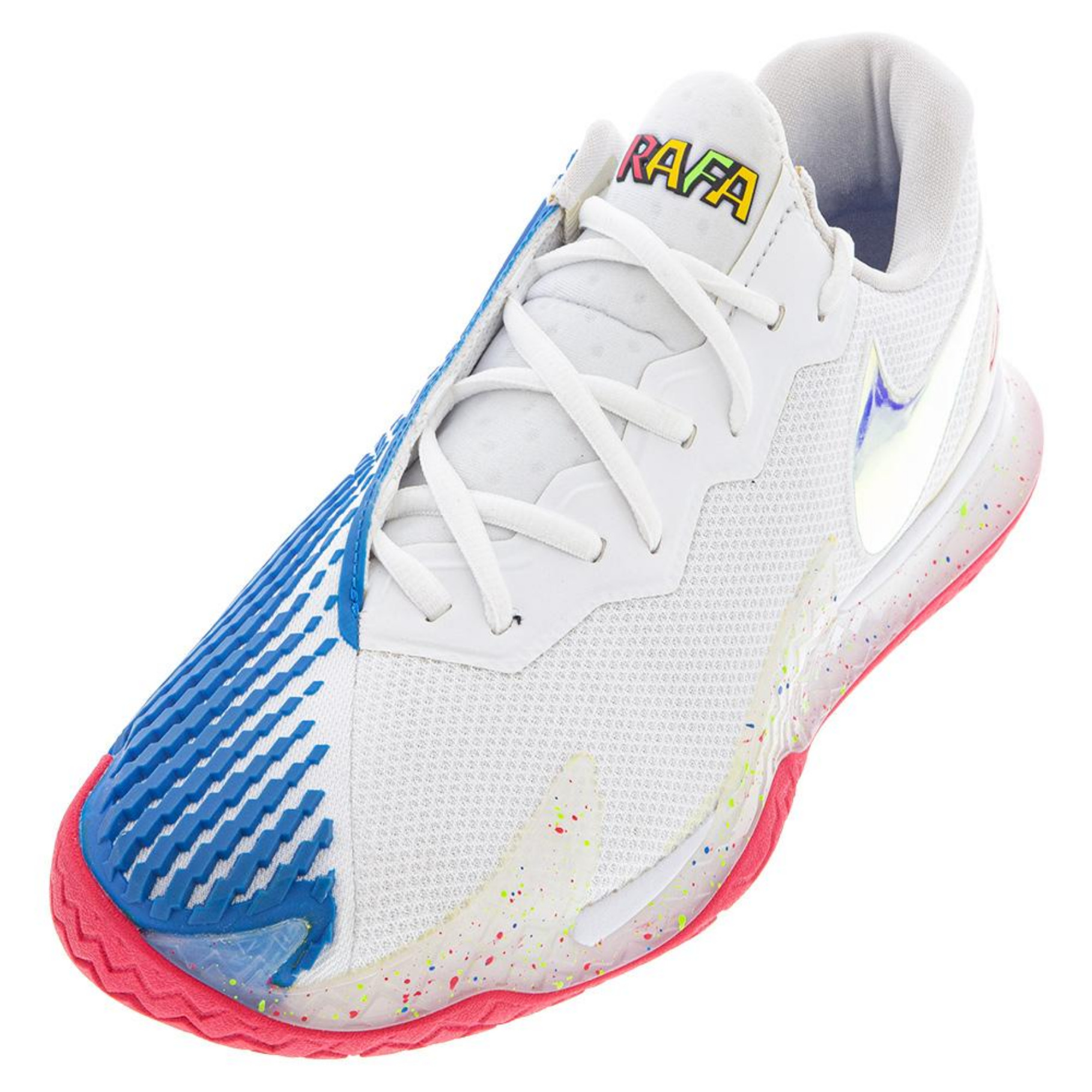 Nike Air Zoom Vapor Cage 4 Men's Shoe - White/Blue