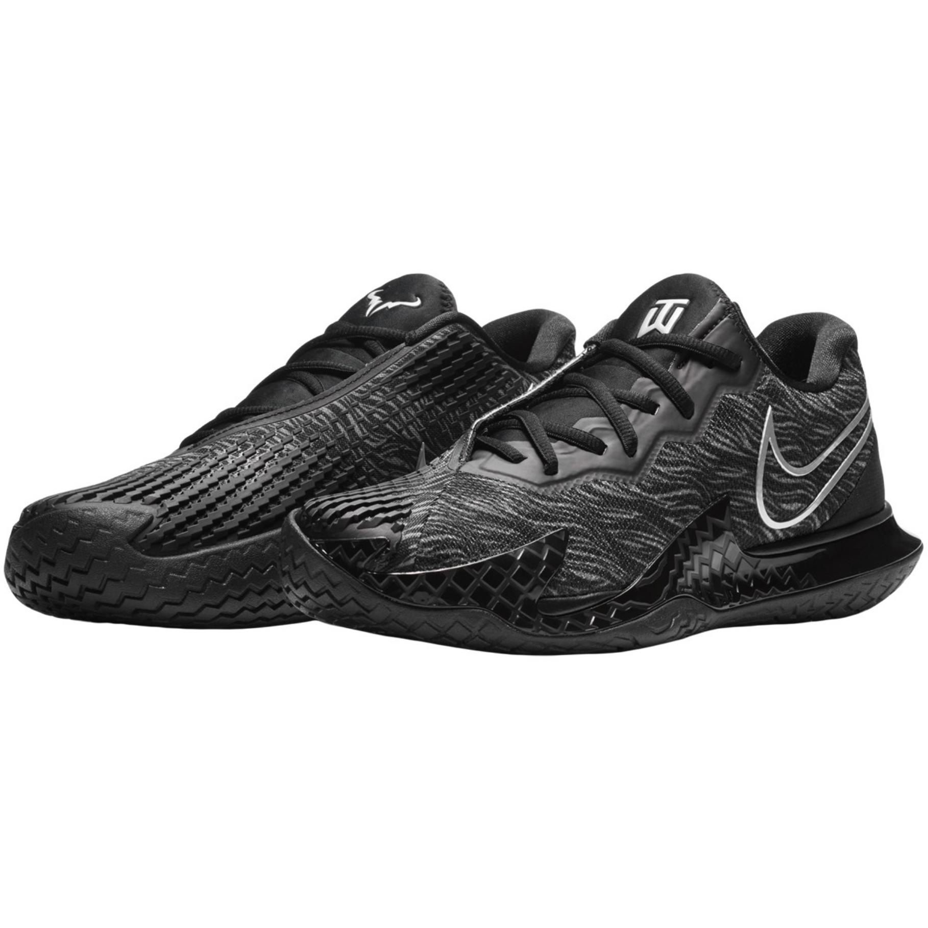 Nike Air Zoom Vapor Cage 4 Men's Rafa Tiger Woods Shoe - Black