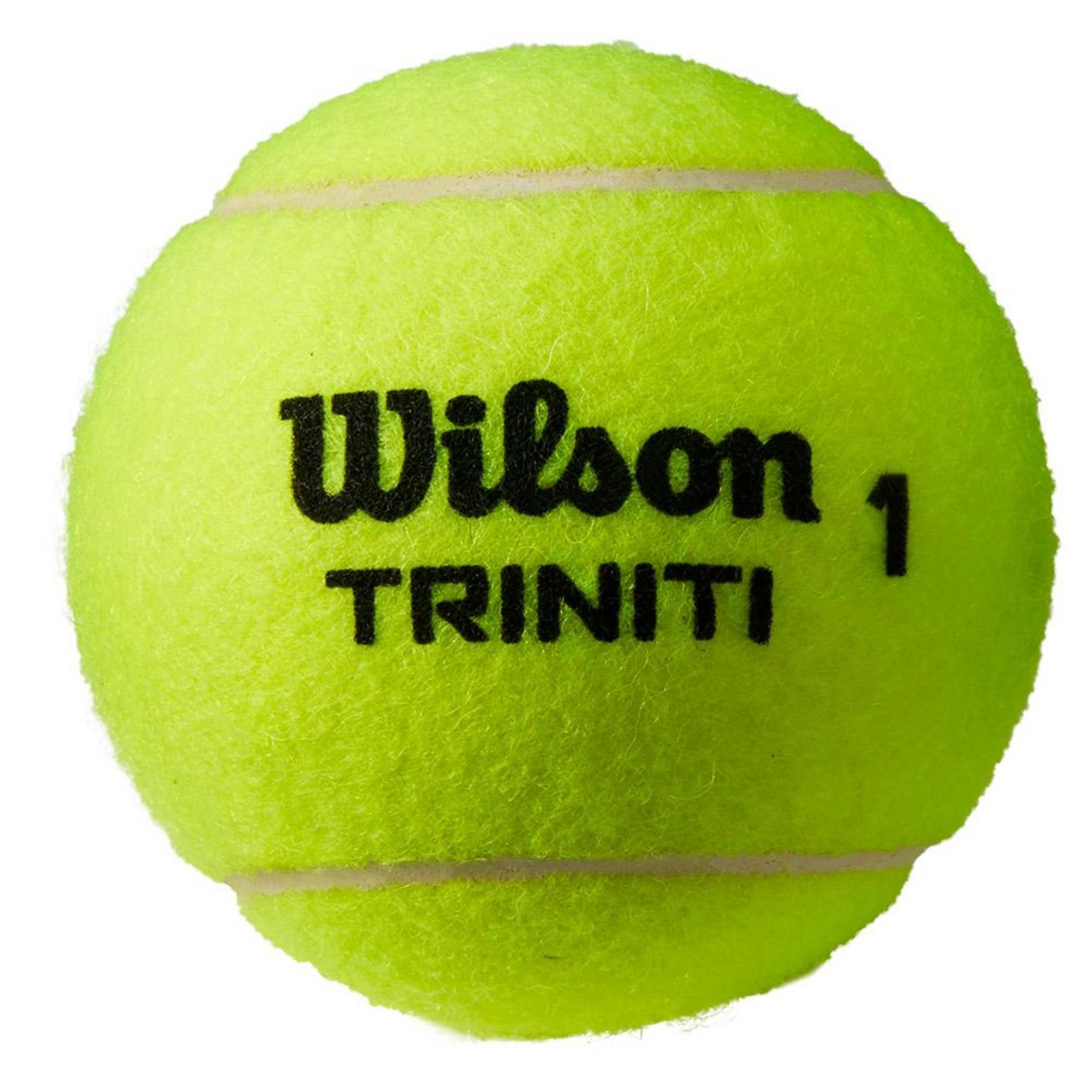 Wilson Triniti All Court Tennis Ball - Can of 3 Balls